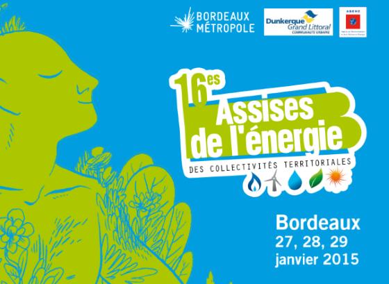 16èmes assises de l'énergie à Bordeaux