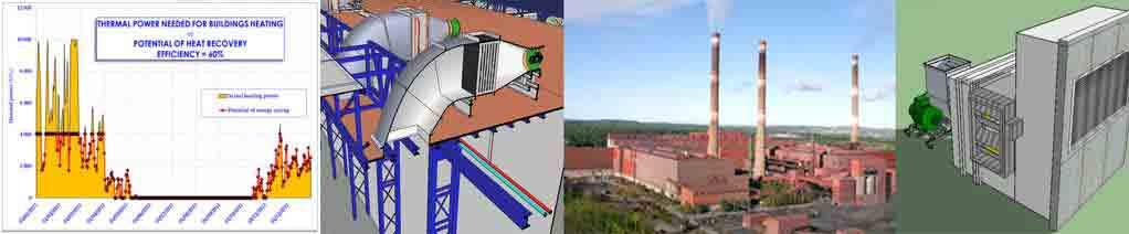 Economies d'énergie pour l'industrie, études process