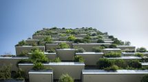 Immeuble végétalisé