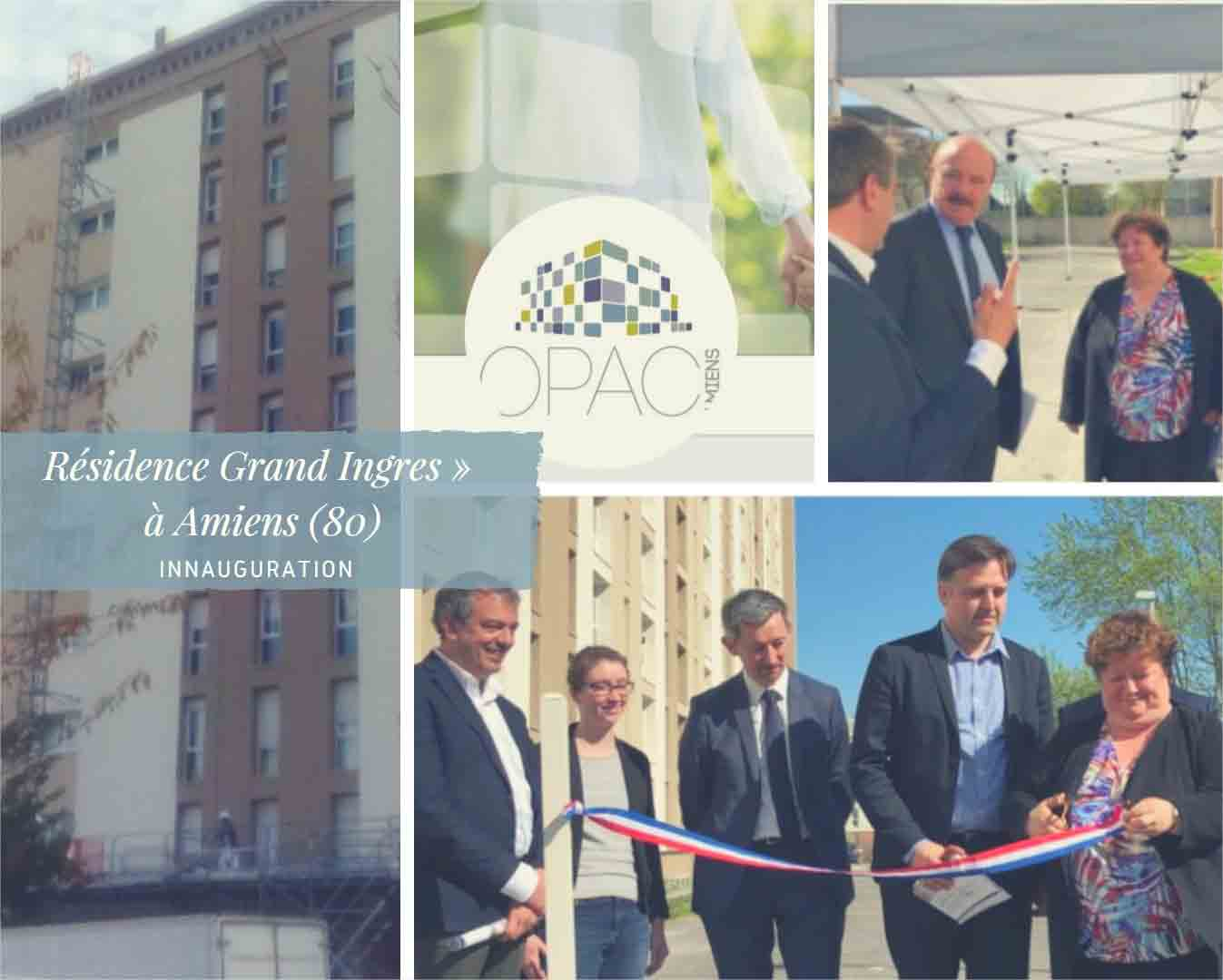 Inauguration Opac d'Amiens