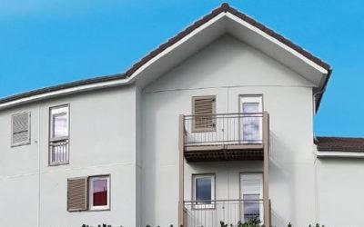 Réhabilitation de 22 logements à Vaulx-Milieu: La Résidence Bois Vosges fait peau neuve.