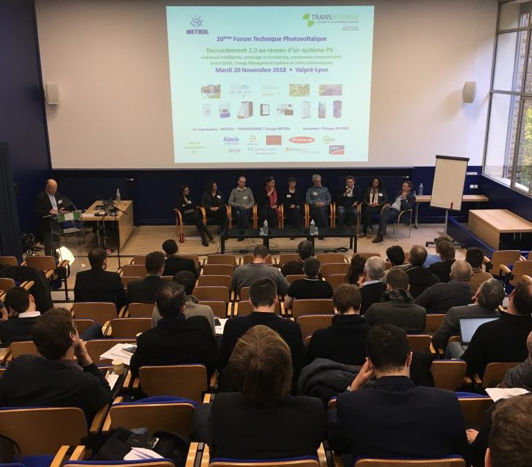 13 octobre 2020 : 21ème Forum Technique Photovoltaïque de Valpré