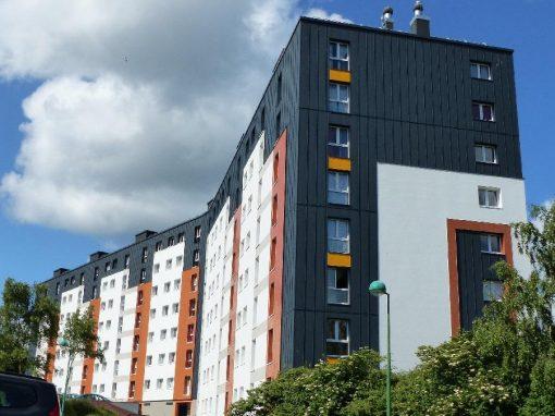 Maîtrise d'oeuvre | Réhabilitation de 87 lgts | Cherbourg-Octeville (50)