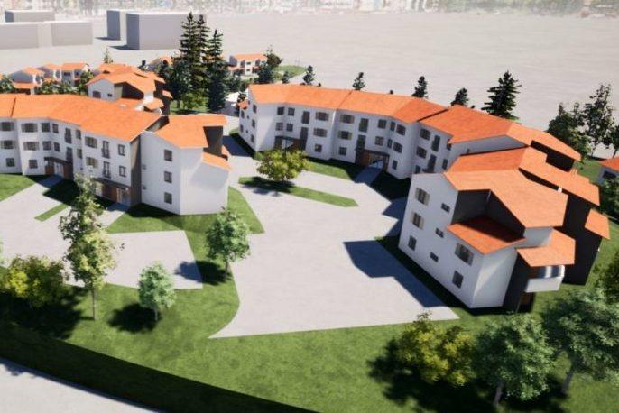 Réhabilitation de 83 logements en site occupé, Résidence Rabelais, Dardilly, 69 :