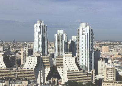 Maîtrise d'œuvre | Rénovation énergétique d'une copropriété de grande hauteur | «Tour Fugue» | Paris (75)