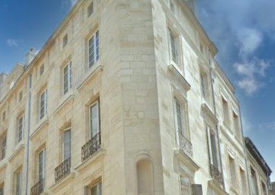 Maîtrise d'œuvre | Réhabilitation d'un Immeuble du 18ème | Centre Historique | Bordeaux (33)