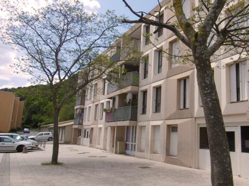 Maîtrise d'œuvre | Rénovation de logements sociaux collectifs | «Le Granouly»| Le Pouzin (07)